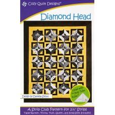 Diamond Head pattern by Cozy Quilt Designs - Jelly Roll & Scrap Friendly