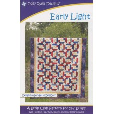 Early Light pattern by Cozy Quilt Designs - Jelly Roll Friendly