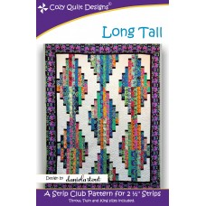 Long Tall pattern by Cozy Quilt Designs - Jelly Roll Friendly