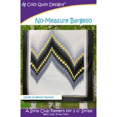 No-Measure Bargello pattern by Cozy Quilt Designs - Jelly Roll & Strip Friendly