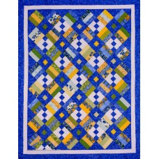 Chain Letter pattern by Cozy Quilt Designs - Jelly Roll & Scrap Friendly