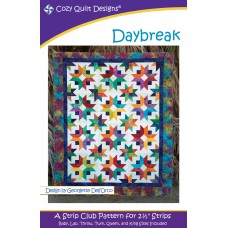Daybreak pattern by Cozy Quilt Designs - Jelly Roll & Scrap Friendly