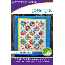 Ideal Cut pattern by Cozy Quilt Designs - Jelly Roll & Scrap Friendly
