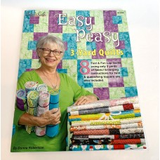 Easy Peasy 3 Yard Quilts - Fabric Cafe - 8 patterns