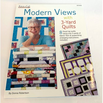 Modern Views 3 Yard Quilts - Fabric Cafe - 8 patterns