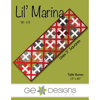 Lil' Marina Pattern by GE Designs - Charm Square Friendly