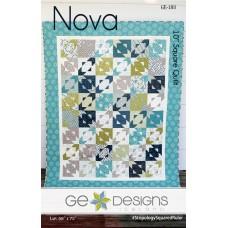 Nova Pattern by GE Designs - Layer Cake Friendly