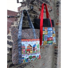 FREE Timeless Treasures Row by Row Home Sweet Home Tote Bag Pattern