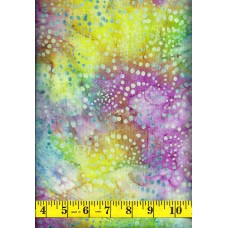 Island Batik Sweet Nector 121631835 Swirly Dots on a Multi Color Background