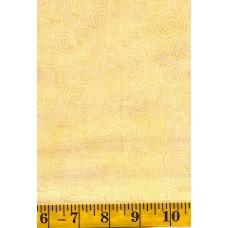 Island Batik Imagine - 121401067 - Gold Swirls on a Cream Background