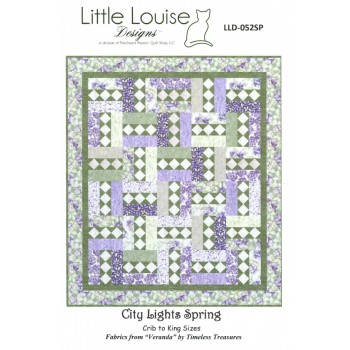 City Lights Spring pattern by Little Louise Designs - 3 sizes
