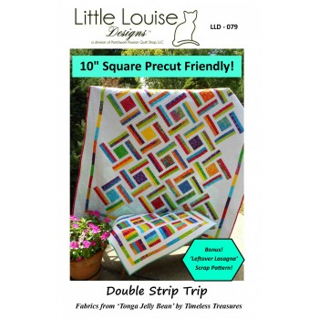 Double Strip Trip pattern by Little Louise Designs - Layer Cake Friendly