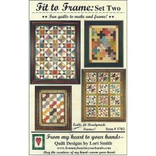 Lori Smith Fit to Frame: Set Two - From My Heart to Your Hands #1702