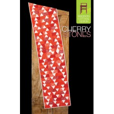 Cherry Stones pattern by Madison Cottage Design - Fat Quarter Friendly!