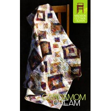 Cardamom Cream pattern by Madison Cottage Design - Great Scrap Quilt!