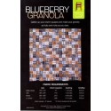 Blueberry Granola pattern by Madison Cottage Design - Charm Square Friendly!
