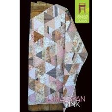 Himalayan Pink pattern by Madison Cottage Design - Fat Quarter Friendly!