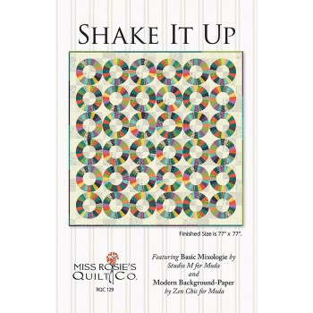 Shake It Up pattern by Miss Rosie's Quilt Co. - Fat Eighth & Scrap Friendly