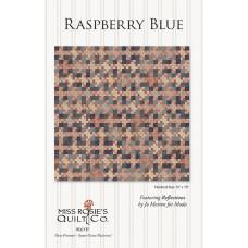 Raspberry Blue pattern by Miss Rosie's Quilt Co. - Scrap Friendly