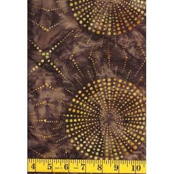 Robert Kaufman Artisan Batik AMD-15512-16 Brown