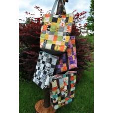 Teacher's Pet Bag pattern by Sweet Jane's - Charm Pack or Scrap Friendly pattern
