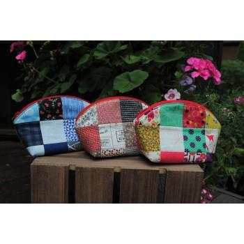 Daphne Pouch pattern by Sweet Jane's - Mini Charm, Charm & Scrap Friendly