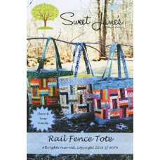 Rail Fence Tote pattern by Sweet Jane's - Charm & Scrap Friendly