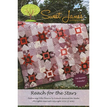 Reach for the Stars pattern by Sweet Jane's - Fat Quarter Friendly