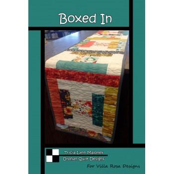 Boxed In pattern card by Villa Rosa Designs - Strip Friendly Pattern