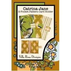 Catrina Jane pattern card by Villa Rosa Designs - 2 Pocket Pattern Card Holder