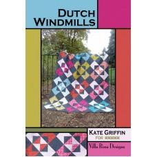 Dutch Windmills pattern card by Villa Rosa Designs