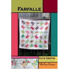 Farfalle pattern card by Villa Rosa Designs - Charm Pack Friendly