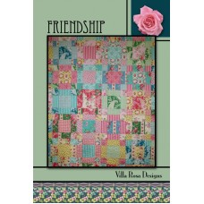 Friendship pattern card by Villa Rosa Designs - Fat Quarter Friendly