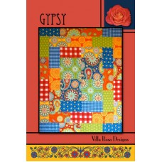 Gypsy pattern card by Villa Rosa Designs - Layer Cake Friendly