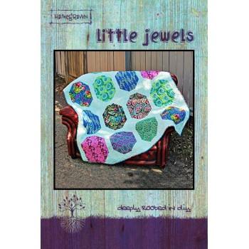 Little Jewels pattern card by Villa Rosa Designs - Fat Quarter & Half Yard Friendly