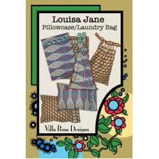 Louisa Jane Pillowcase/Laundry Bag pattern card by Villa Rosa Designs