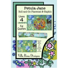 Petula Jane Roll & Go Placemat & Napkin pattern card by Villa Rosa Designs