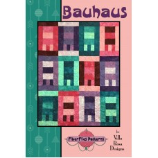 Bauhaus pattern card by Villa Rosa Designs - Fat Quarter Friendly