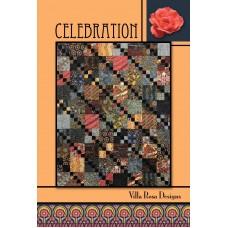 Celebration pattern card by Villa Rosa Designs - Fat Quarter Friendly
