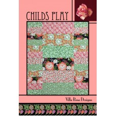 Childs Play pattern card by Villa Rosa Designs - Fat Quarter Friendly Pattern
