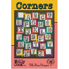 Corners pattern card by Villa Rosa Designs