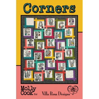 Corners pattern card by Villa Rosa Designs