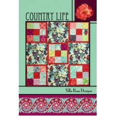 Country Life pattern card by Villa Rosa Designs - Charm Square Friendly Pattern