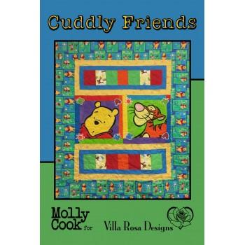 Cuddly Friends pattern card by Villa Rosa Designs - Panel Friendly