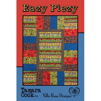 Eazy Piezy pattern card by Villa Rosa Designs