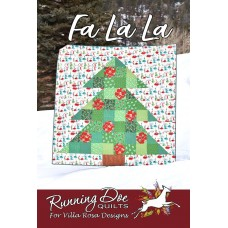 Fa La La pattern card by Villa Rosa Designs - Fat Quarter Friendly Pattern