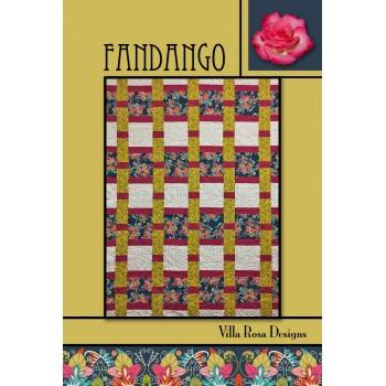 Fandango pattern card by Villa Rosa Designs