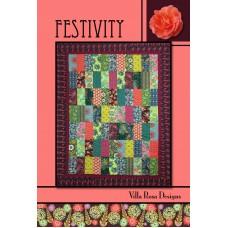 Festivity pattern card by Villa Rosa Designs - Layer Cake Friendly Pattern