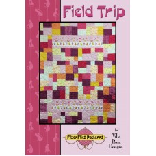 "Field Trip pattern card by Villa Rosa Designs - (12) Fat Quarters or (40) 10"" Squares"