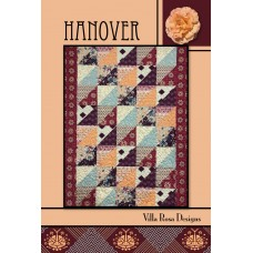 Hanover pattern card by Villa Rosa Designs - Fat Quarter Friendly Pattern